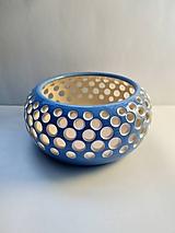 Svietidlá a sviečky - keramicky svietnik - 10391541_