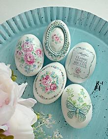 Dekorácie - Pastelová jar sada vajíčok - 10390977_