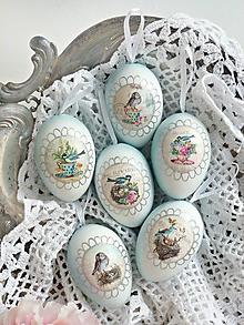 Dekorácie - Štebotavá jar sada vajíčok - 10391019_