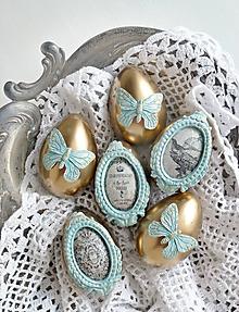 Dekorácie - Prvé lúče sada vajíčok - 10391607_