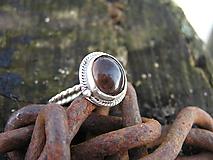 Prstene - Strieborny prsteň Ag 925 Zahneda - 10389431_