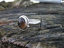 Prstene - Strieborny prsteň Ag 925 Zahneda - 10389442_