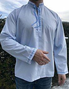 Oblečenie - Folklórna košeľa pánska Viktor - 10389732_