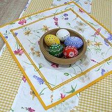 Úžitkový textil - Vesna - obrus štvorec(1) 40x40 - 10388813_