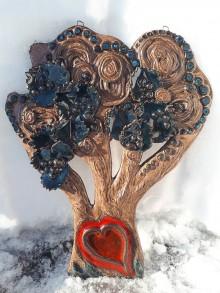 Dekorácie - Keramický strom života. - 10391139_