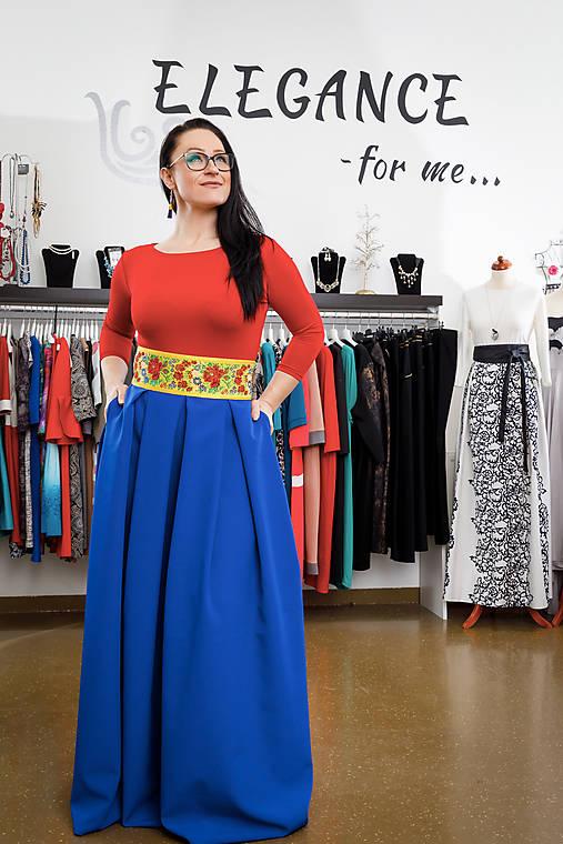 4ae63dd35519 Spoločenská sukňa - král.modrá   ELEGANCE-forme - SAShE.sk ...