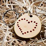 Kľúčenky - Kľúčenka (prívesok) z dreva - 10389164_