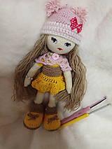 Hračky - Háčkovaná bábika - 10391953_