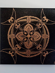 Obrazy - Mandala - Volanie 4 anjelov - 10390074_