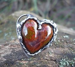 Prstene - Achát - prsteň - 10391555_
