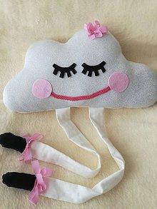 Textil - Detský vankúš obláčik - Children's pillow. - 10390558_
