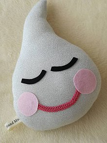 Textil - Detský vankúš kvapka - Children's pillow. - 10390609_