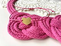 Sady šperkov - ♥ Z LÁSKY PINK ♥ - 10391734_