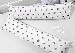 Textil - Podlhovastý vankúš STAR 23x100cm - 10396277_