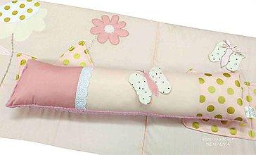 Textil - Podlhovastý vankúš LOVE 23x80cm - 10396305_