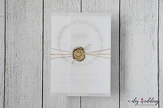 Papiernictvo - Svadobné oznámenie Seal - iba obálka - 10394779_