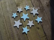Detské doplnky - sada hviezdičiek - 10393877_