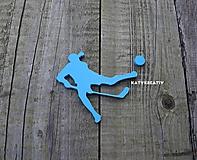 Dekorácie - floorball....silueta - 10394139_