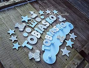 Detské doplnky - súpravy dekorácií do detských izieb - 10393942_