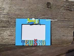 Rámiky - fotorámik pre Teuška - 10395354_