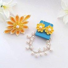 Sady šperkov - Slniečkovo žltá - 10394188_