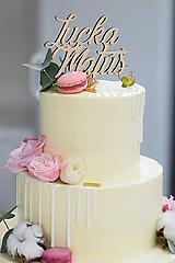 Zápich na svadobnú tortu I