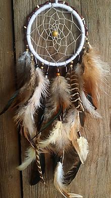 Dekorácie - Lapač snov Indián - 10394676_