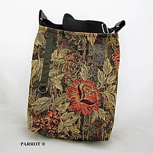 Kabelky - ROSSE FLOWER * LITTLE BAG * no. 01 * PARROT® - 10395100_