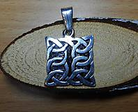 Šperky - celtic amulet -prepletaný symbol - 10396453_
