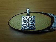 Šperky - celtic amulet -prepletaný symbol - 10396457_