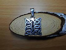 Šperky - celtic amulet -prepletaný symbol - 10396466_
