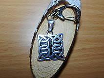 Šperky - celtic amulet -prepletaný symbol - 10396472_