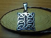 Šperky - celtic amulet -prepletaný symbol - 10396543_