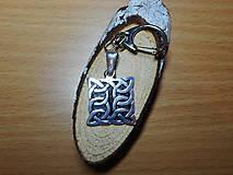 Šperky - celtic amulet -prepletaný symbol - 10396589_