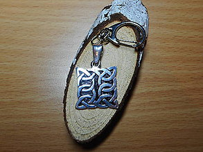 Šperky - celtic amulet -prepletaný symbol (amulet-kľúčenka) - 10396589_