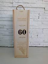 Krabičky - Gravirovana krabica na víno - 10394422_