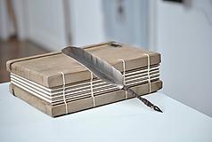 Papiernictvo - Kaligrafické brko na písanie atramentom - BROWNIE - 10395717_