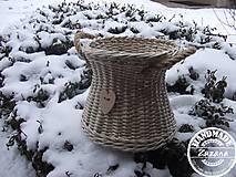 Košíky - Košík v. 20, pr. 25cm - 10396007_