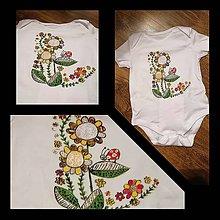 Detské oblečenie - Na farebnej lúke - 10393014_