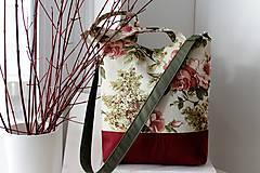 Veľké tašky - Romantická taška pre dámy - 10395146_