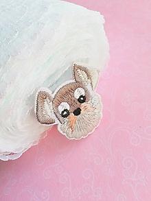 Galantéria - nažehľovačka psík - 10395596_