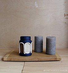 """Dekorácie - """"Reteia mini"""" recyklovaná grécka váza - 10394349_"""