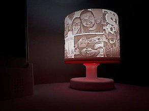 Svietidlá a sviečky - Lampa zaľúbených - 10397193_