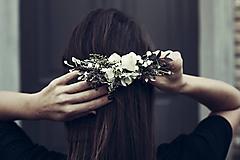 Ozdoby do vlasov - Hrebienok - Puristic - 10394669_