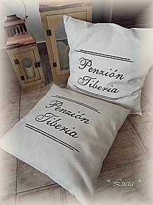 Úžitkový textil - Obliečka Penzión .... - 10395985_