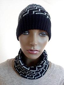 Čiapky - Pletené čiapky - 10396308_