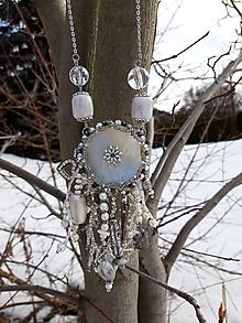 Náhrdelníky - Náhrdelník s perleťou