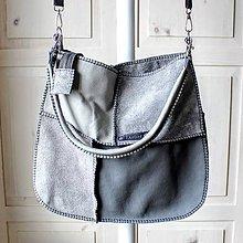 Veľké tašky - Casual leather *hobo* bag No.2 - 10393916_