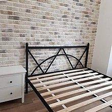 Nábytok - Manželská kovová posteľ - 10396100_