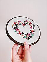 Obrázky - Srdce z kvetín - 10394910_